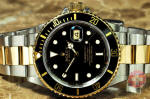 Rolex Submariner 18k Gold / Steel black 16803 philadelphia used watch