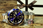 Rolex Submariner 18k Gold / Steel 16613 blue discount philadelphia