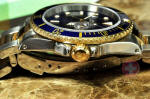 Rolex Submariner 18k Gold / Steel 16613 with papers gold buckle philadelphia