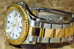 Rolex Yachtmaster Mid Size 18k Gold / Steel box papers philadelphia buy used