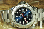 Rolex Yachtmaster Steel & Platinum with Blue Dial philadelphia