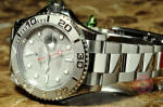 Rolex Yachtmaster Steel & Platinum with new style buckle 116622