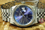 Rolex Mens Datejust with Blue dial philadelphia buy used