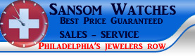 Rolex Philadelphia buy used Sansom Watches we buy repair New Jersey