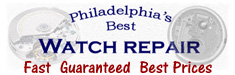 Philadelphia watch repair Rolex Breitling Swiss Links Parts Tag Heuer all brands Fast best price