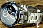 Tag Heuer Carrera Chronograph Blue used watch ardmore philadelphia